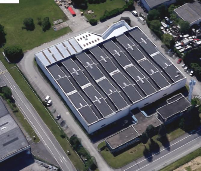 Rillieux la Pape – Bâtiment indépendant de 4500 m²